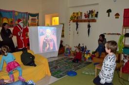 Świety Mikołaj w odwiedzinach