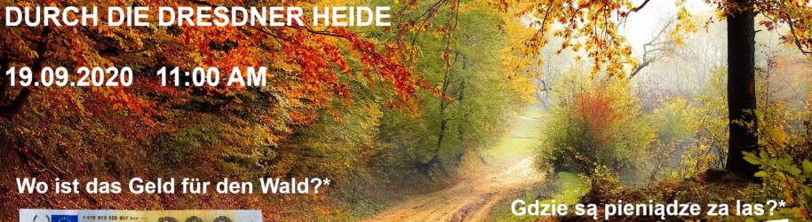 Deutsch-Polnischer Dialog durch die Dresdner Heide