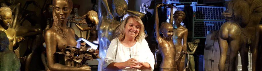 Auf den Spuren der Skulpturen von Małgorzata Chodakowska